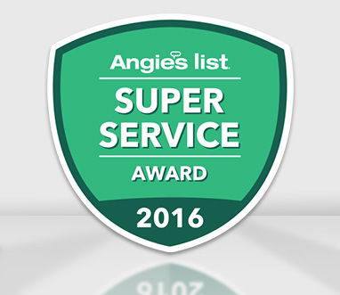 Angie's List Super Service Award 2016 Earned by Sir Grout Central New Jersey