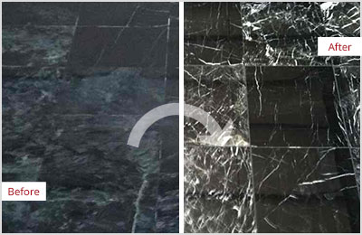 Sir Grout Central New Jersey Black Marble Stone Honing and Polishing