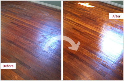 Sir Grout Central New Jersey Wood Refinishing Sandless