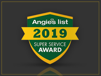 Angie's List Super Service Award 2019 for Sir Grout Central New Jersey